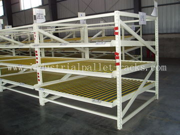 "Industrial Storage Carton Flow Rack In 3 Beam Level /  Height 99"" & Loading Weight 3000LBS"