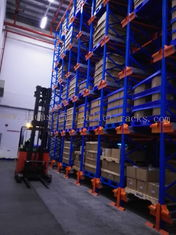 Six Level HD Pallet Radio Shuttle Racking System, A High Compact Storage Model