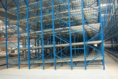 filo basis stock gravity flow Industrial Pallet Racks with steel zinc roller