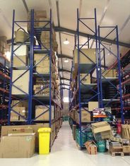 Adjustable Industrial Storage Racks / Galvanized Shelving Racks