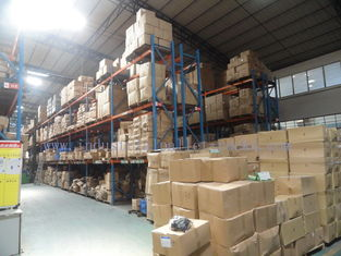 Logistic cental Pallet Rack Shelving Industrial Storage High Capacity